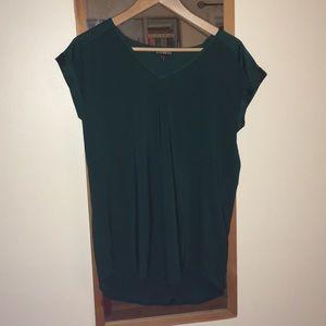 Silky Emerald Top